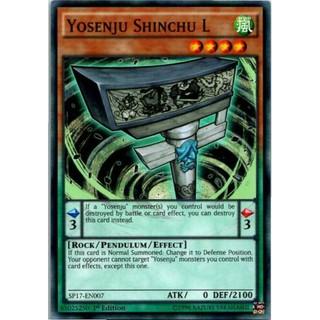 THẺ BÀI YUGIOH [ US ] Yosenju Shinchu L