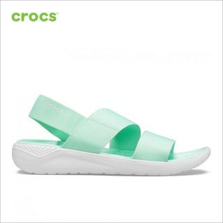 Giày Sandals Nữ Crocs - LiteRide Stretch 206081-3TP thumbnail