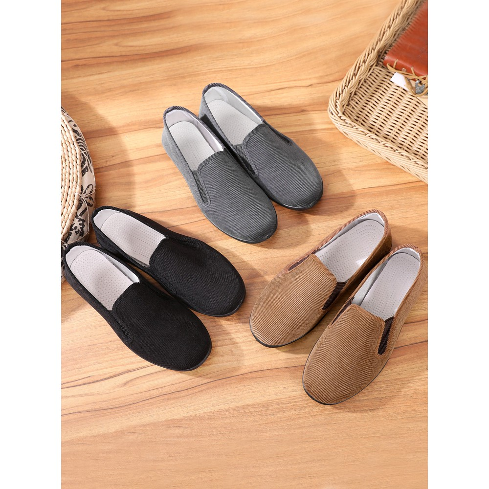 Old Beijing cloth shoes youth early summer single shoes driv