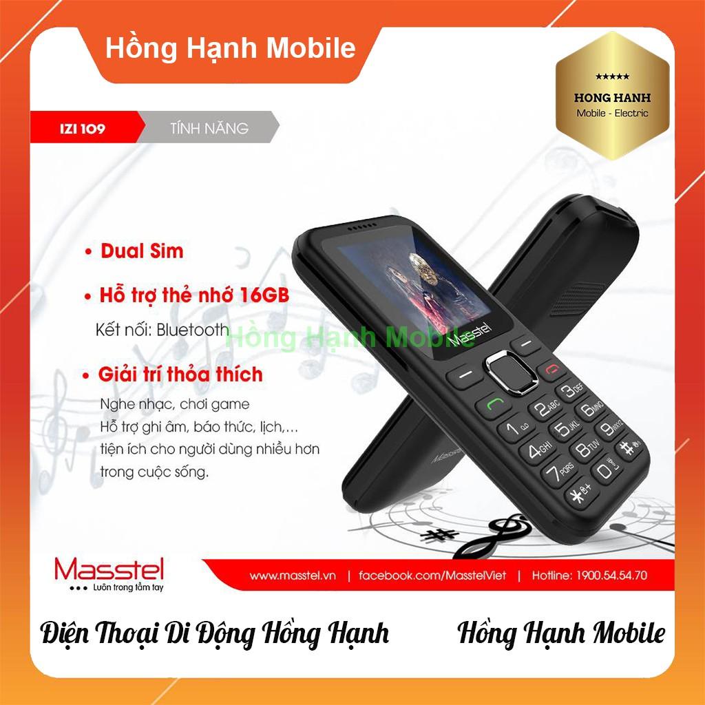 Điện Thoại Masstel iZi 109 - Hàng Chính Hãng - Hồng Hạnh Mobile