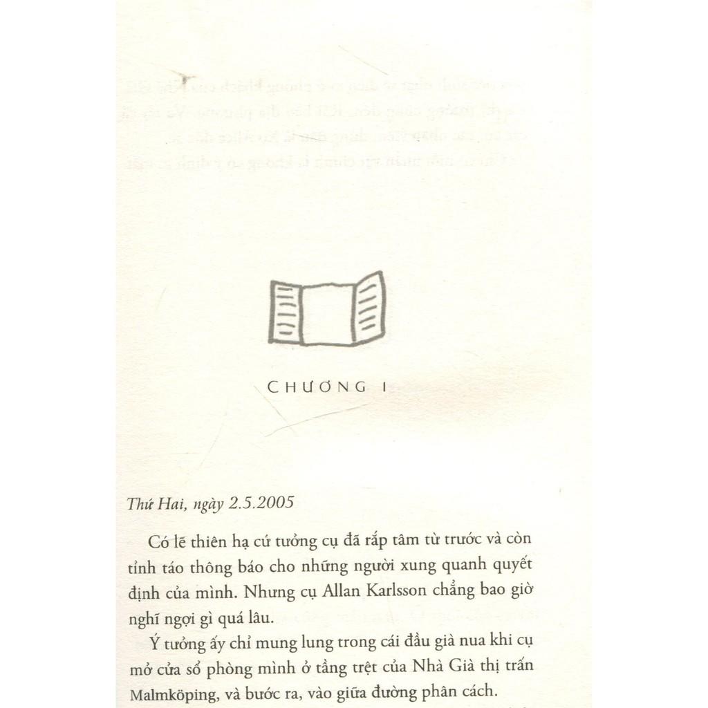 Sách Ông Trăm Tuổi Trèo Qua Cửa Sổ Và Biến Mất - Jonas Jonasson