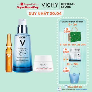 """Bộ serum khoáng phục hồi chuyên sâu và làm sáng da Vichy Mineral 89 giá chỉ còn <strong class=""""price"""">72.900.000.000đ</strong>"""