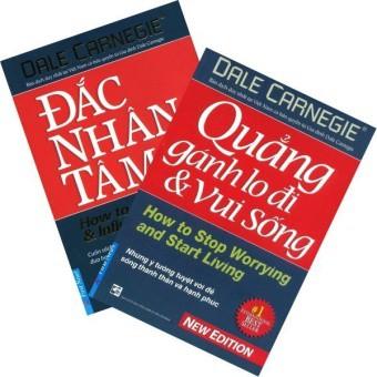 Sách - Combo Đắc Nhân Tâm và Quảng Gánh Lo Đi & Vui Sống