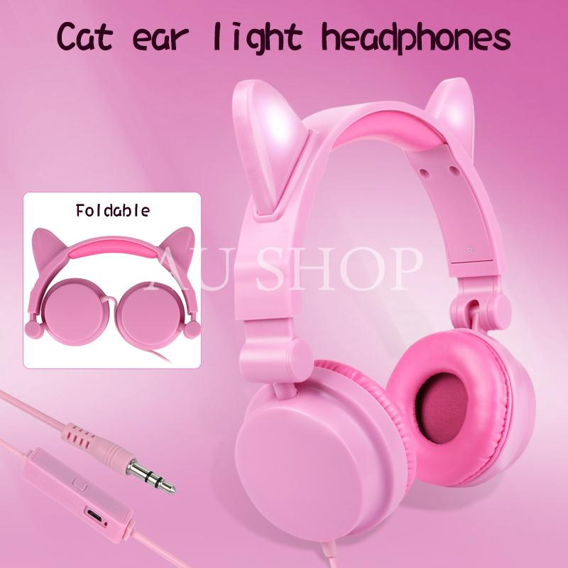 AUS Headphone Over-Ear Headset Headband Receiver Giá chỉ 191.339₫
