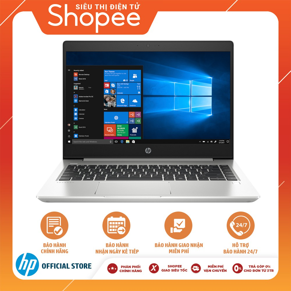 """[Mã ELHPDEC giảm 15%]Laptop HP ProBook 440 G6 Core i3-8145U/4GB RAM DDR4/500GB HDD/14"""" HD- Chính Hãng"""