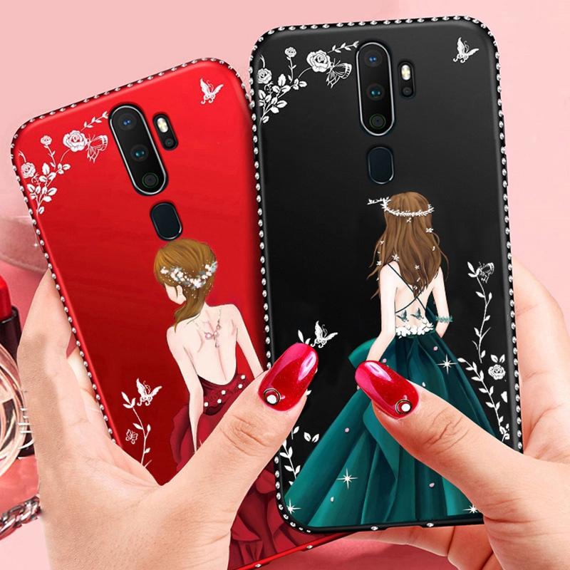 OPPO A5 / A9 2020 Goddess Soft Case Soft TPU Luxury Diamond Phone Case