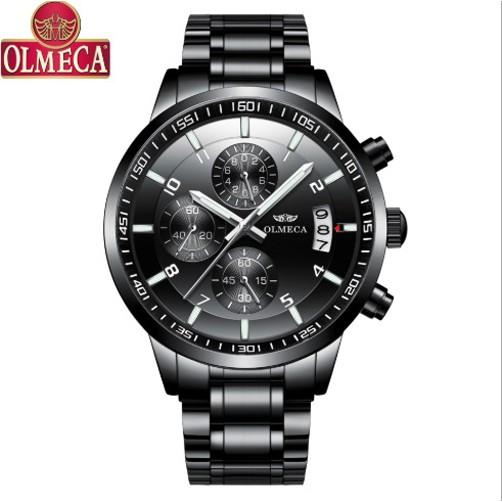 Đồng hồ nam Olmeca Japan 0890 (full đen)