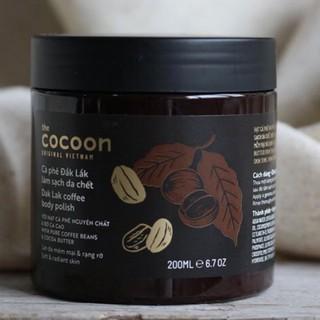 Cocoon Cà Phê Đắk Lắk Làm Sạch Da Chết Cơ Thể
