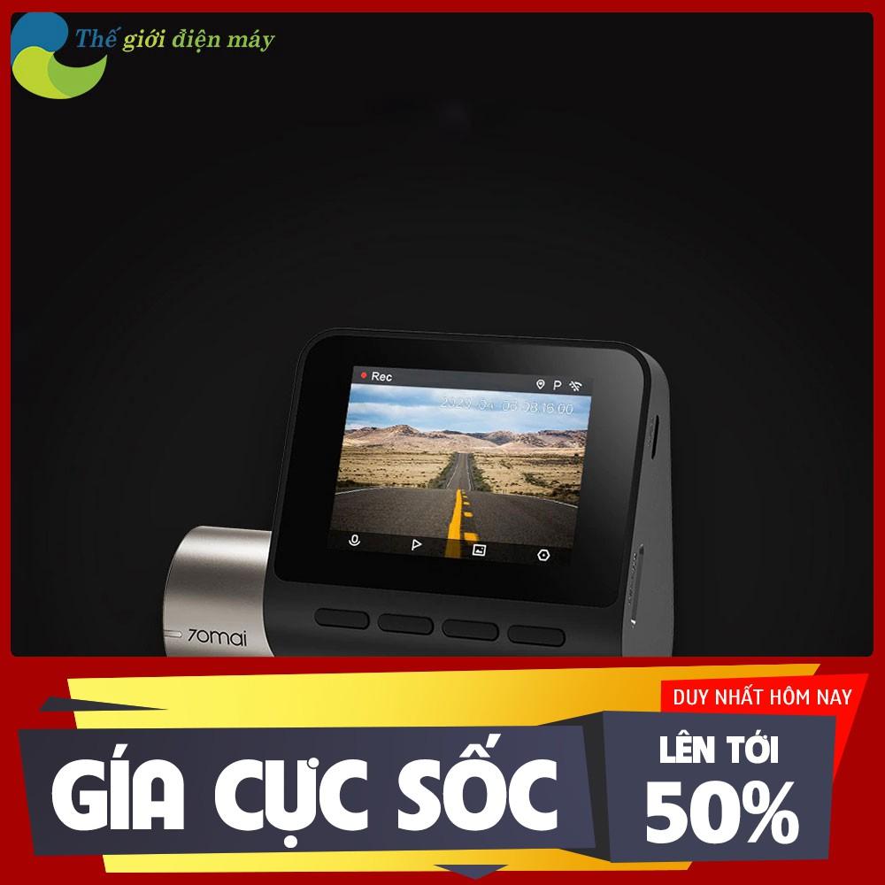 [ SALL OFF ] [Bản quốc tế] Camera hành trình ô tô XIAOMI 70MAI Pro Plus A500 tích hợp sẵn GPS - Bảo hành 6 tháng .