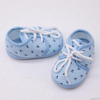 Giày vải cotton cho bé tập đi