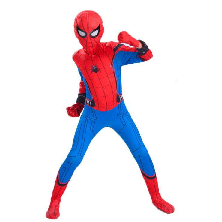 Quần Áo Người Nhện Spider Man Cho Bé Trai