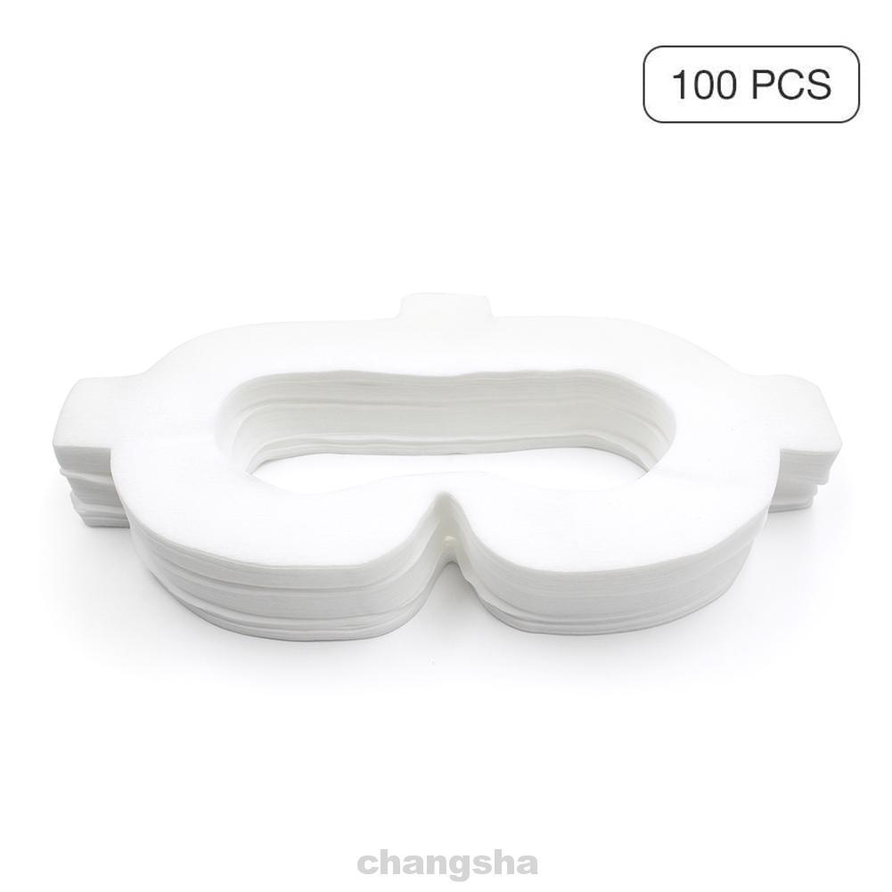 (Hàng Mới Về) Set 100 Miếng Bọc Bảo Vệ Mắt Vr Tiện Dụng