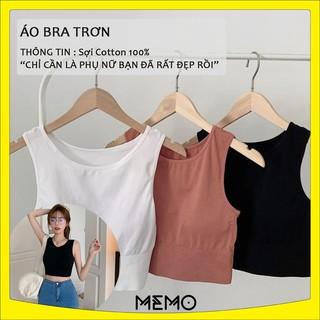Áo bra tập gym co dãn 4 chiều, áo bra trơn thoáng mát thoát mồ hôi memo.shop thumbnail