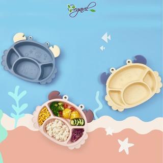 Bộ khay ăn dặm lúa mạch hình cua cho bé, dạy con ăn dặm kiểu Nhật - Orgavil thumbnail