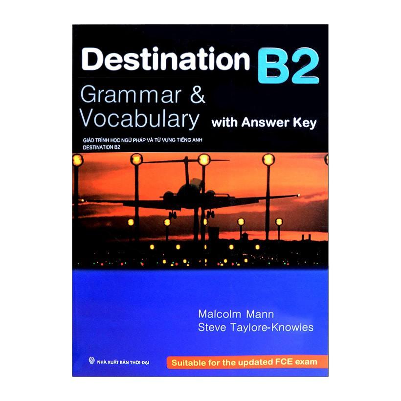 [Sách] Destination B2 - Grammar & Vocabulary