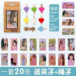 Bộ thẻ hình lomo nhóm nhạc Red Velvet mini