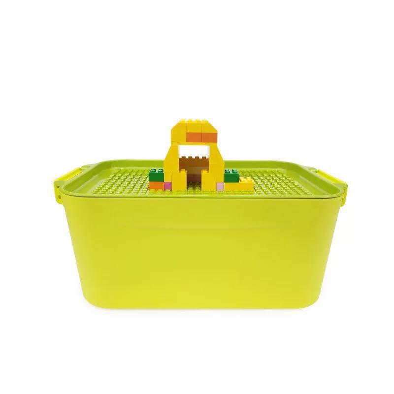 [Nhập mã TOYJUNE giảm 10K]Hộp đựng Lego kiêm hộp chơi chuyên dụng chơi xong chỉ việc gạt vào hộp cài...