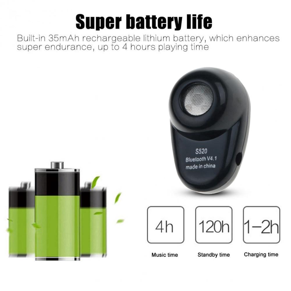 Tai nghe Bluetooth Mini S520 kèm mic pk S530