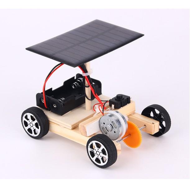 Xe Tự Hành Hoạt Động Bằng Năng Lượng Mặt Trời – Đồ Chơi Khoa Học (STEM)