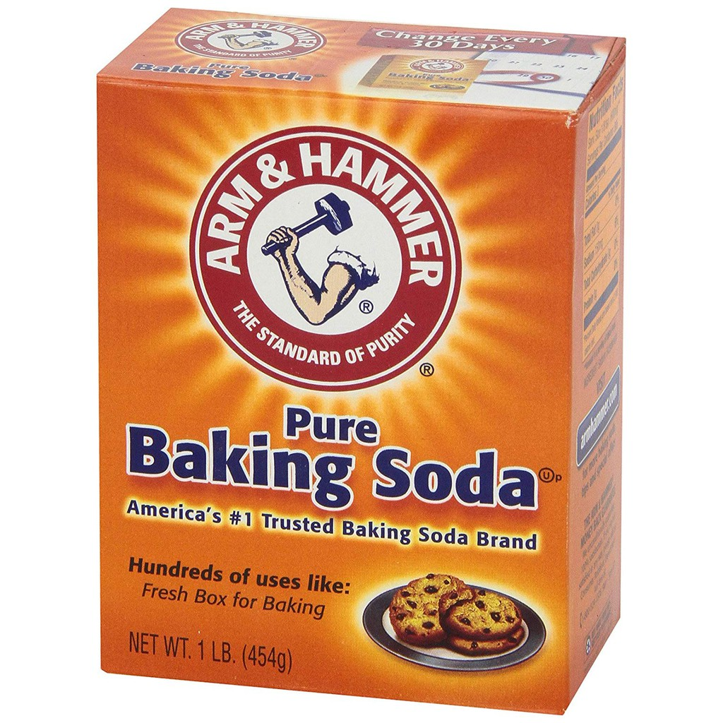 Bột baking soda Arm and Hammer 454g (Mỹ)
