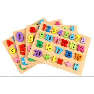 [FOLLOW SHOP 9K – 13H, 31/03] bảng chữ cái và số nổi