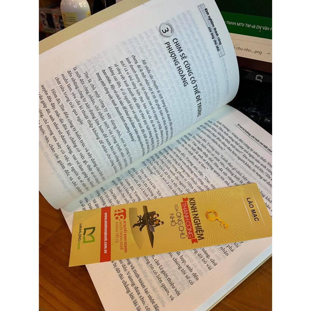 Sách: Kinh Nghiệm Thành Công Của Ông Chủ Nhỏ