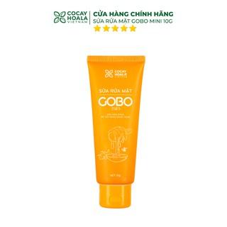 Sữa rửa mặt Gobo Cocayhoala mini - Giúp làm sạch da, cấp ẩm giúp da căng bóng mịn màng - 10g thumbnail
