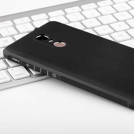 Xiaomi Note 3/ Note 3 Pro - Ốp chống sốc cao su đen (free ship)