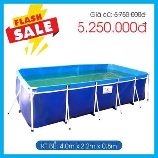 Bể bơi gia đình bestpool KT 2.2m x4m x0.8m