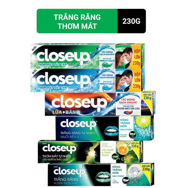kem đánh răng Close 230g các loại