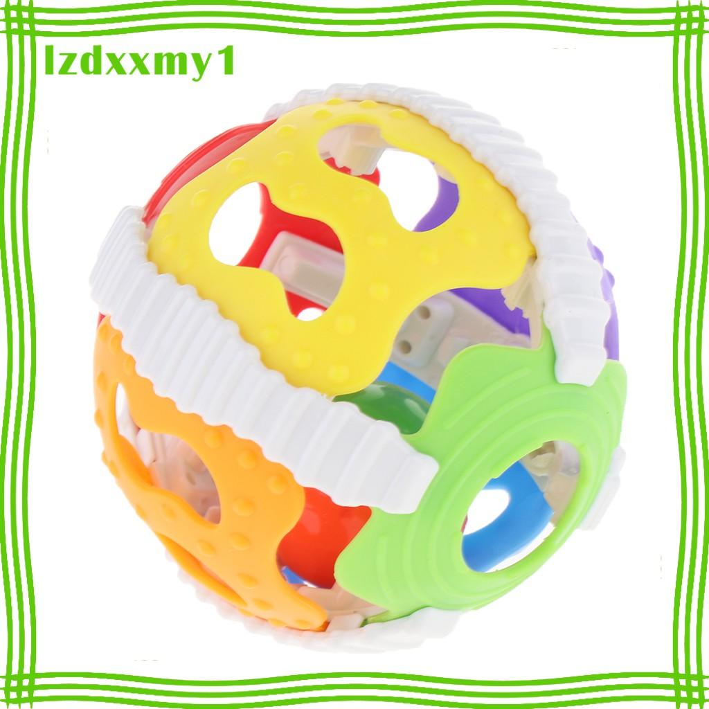 Kiddy Baby Raffles Plastics Baby Toys Educational Hand Shake Bell Rings Toys
