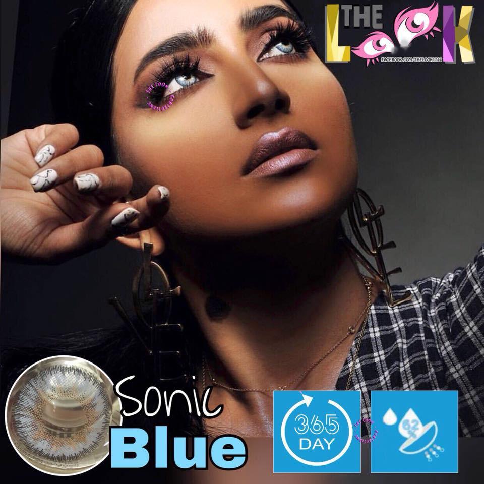 Lens Kính Sát Tròng Sonic Blue