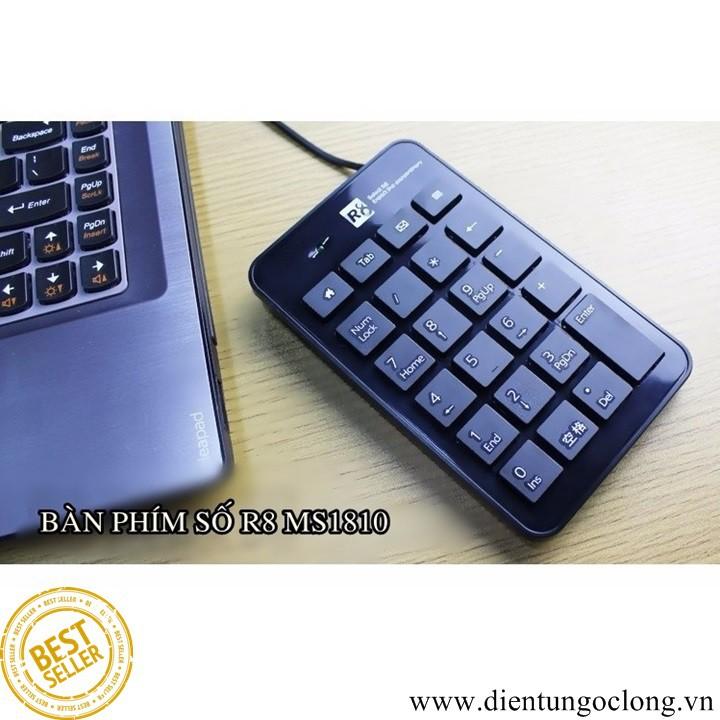 Bàn Phím Số Mini R8 MS1810