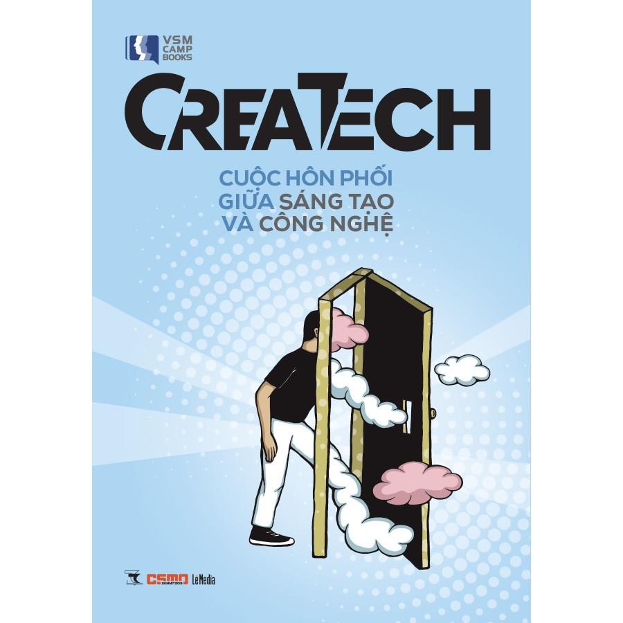 Sách - Createch – Cuộc Hôn Phối giữa Sáng Tạo và Công Nghệ