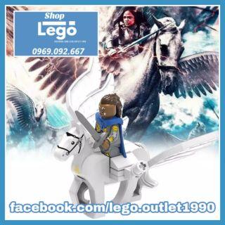 Xếp hình Lego Ngựa chiến Valkyria ngựa bay ngựa trời 2019 mới nhất Lego Minifigures Xinh Xh1295 thumbnail