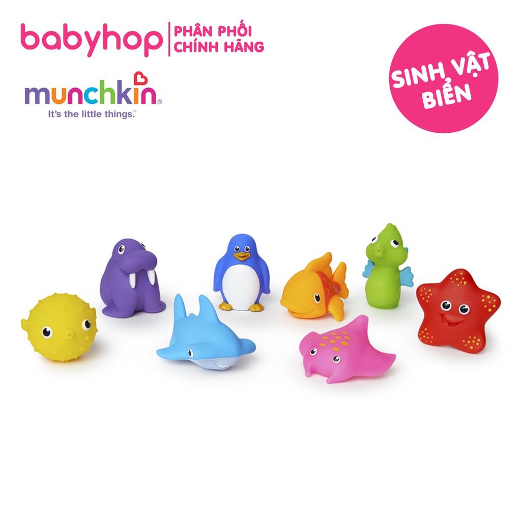 Đồ chơi nhà tắm sinh vật biển Munchkin (bán lẻ 1,2,3 con)