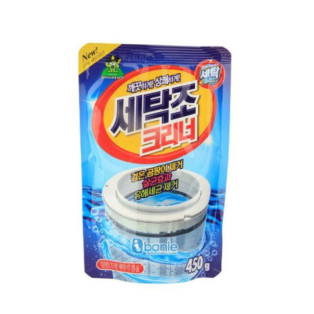 Combo 5 gói bột vệ sinh lồng máy giặt Sandokkaebi - 2398892 , 376382770 , 322_376382770 , 140000 , Combo-5-goi-bot-ve-sinh-long-may-giat-Sandokkaebi-322_376382770 , shopee.vn , Combo 5 gói bột vệ sinh lồng máy giặt Sandokkaebi
