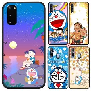 Ốp Điện Thoại In Hình Doraemon Xinh Xắn Cho Samsung Galaxy A30s A30 A20e A20s A20 A10s A10 A9 A8 S6 Edge