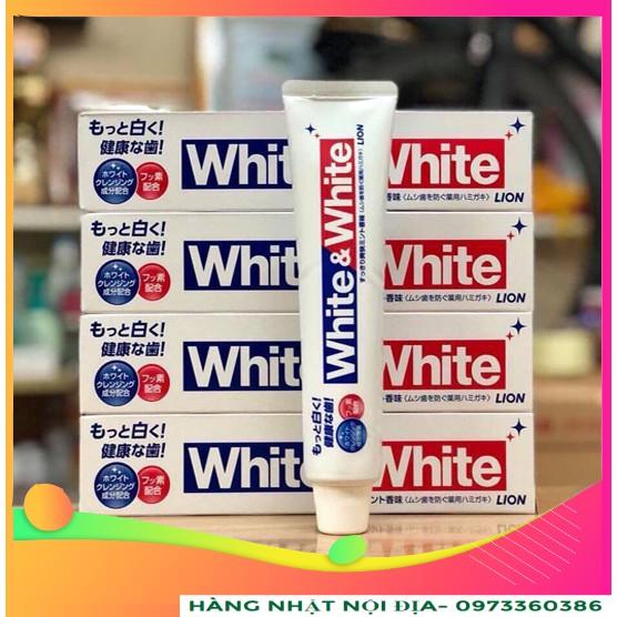 Kem Đánh Răng White & White 150g Nhật Bản