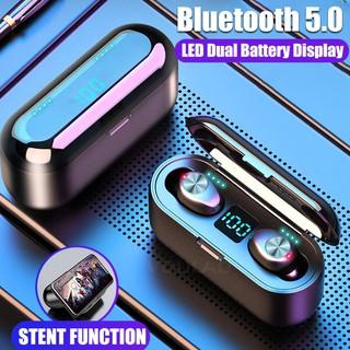 Bluetooth 5.0 Earphone 8D Stereo Wireless Headphones Sport Waterproof Handsfree
