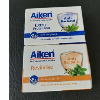 Aiken - Xà bông cục sạch khuẩn cho gia đình Aiken 90g thumbnail