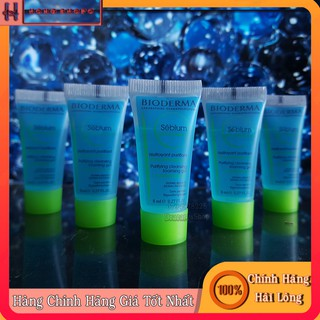 Gel làm sạch mụn ngăn ngừa bít tắc lỗ chân lông Bioderma Sébium Gel Moussant 8ml thumbnail