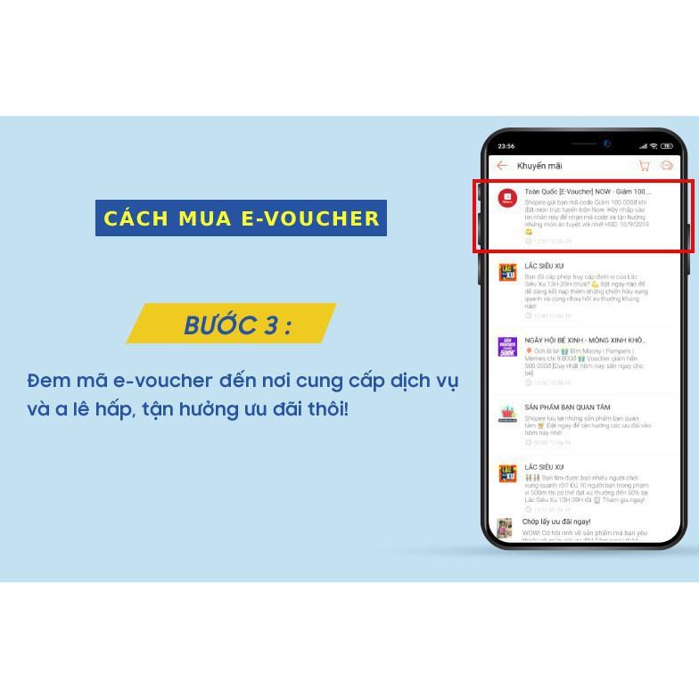 (TPHCM-Hà Nội-Đà Nẵng) [E-Voucher] Đặt món NowFood 25K (đơn từ 50K) - Áp dụng cho Quán Đối Tác, thanh toán bằng AirPay