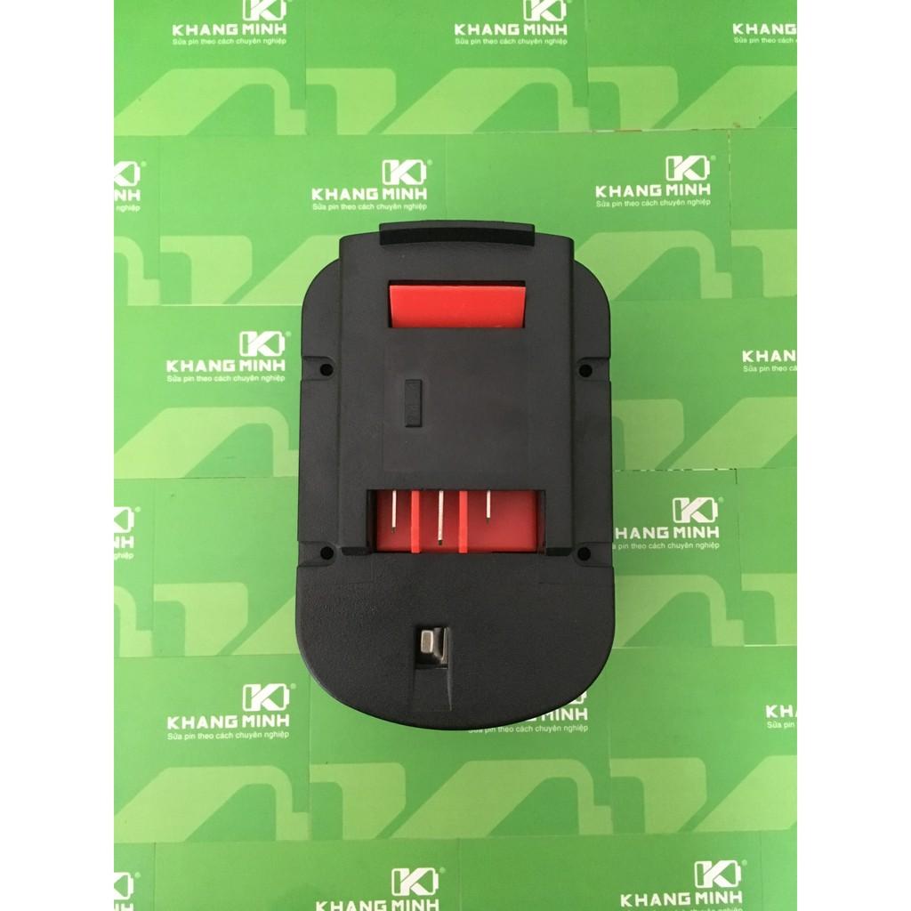 KM Vỏ pin Black&Decker 14.4V 3.0AHh Ni-cd, có thể lắp cell Ni-cd hoặc Li-ion 18650 - 2891209 , 780882416 , 322_780882416 , 70000 , KM-Vo-pin-BlackDecker-14.4V-3.0AHh-Ni-cd-co-the-lap-cell-Ni-cd-hoac-Li-ion-18650-322_780882416 , shopee.vn , KM Vỏ pin Black&Decker 14.4V 3.0AHh Ni-cd, có thể lắp cell Ni-cd hoặc Li-ion 18650