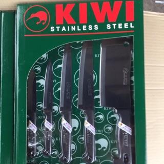 Bộ dao cán nhựa dành cho nhà bếp KIWI thái 5 món Thái Lan