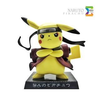 Đồ chơi mô hình Naruto Pikachu