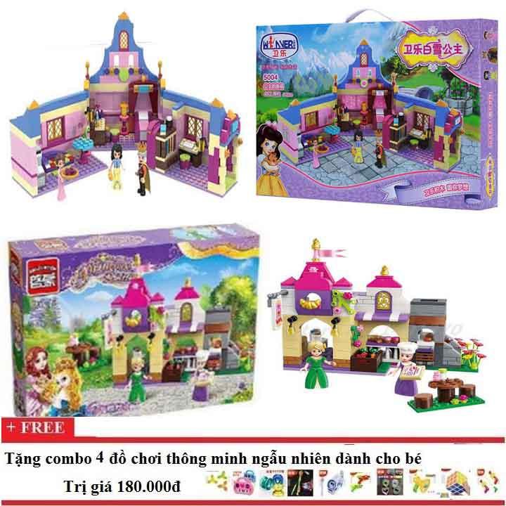Bộ lego xếp hình combo Winer5004+enlighten 2603 cho bé gái - 3389001 , 876799680 , 322_876799680 , 765000 , Bo-lego-xep-hinh-combo-Winer5004enlighten-2603-cho-be-gai-322_876799680 , shopee.vn , Bộ lego xếp hình combo Winer5004+enlighten 2603 cho bé gái
