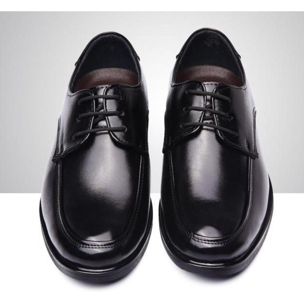 ZASHION รองเท้าหนัง รองเท้าแฟชั่นผู้ชาย ใส่ทำงาน Matt Casual Business Leather Men ShoeASHION รองเท้าหนัง รองเท้าแฟชั่นผู