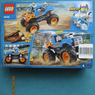 LEGO City 60180 Monster Truck – Đồ Chơi Xếp Hình LEGO Chính Hãng Đan Mạch