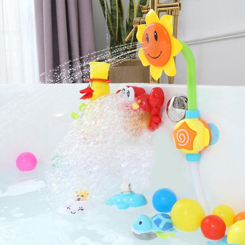 Bông hoa phun nước – Đồ chơi nhà tắm cho bé – Bông hoa đồ chơi phun nước – Đồ chơi cho bé – Phụ kiện trang trí phòng tắm